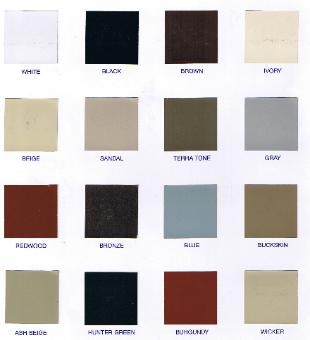 CLICK HERE FOR DOOR COLORS